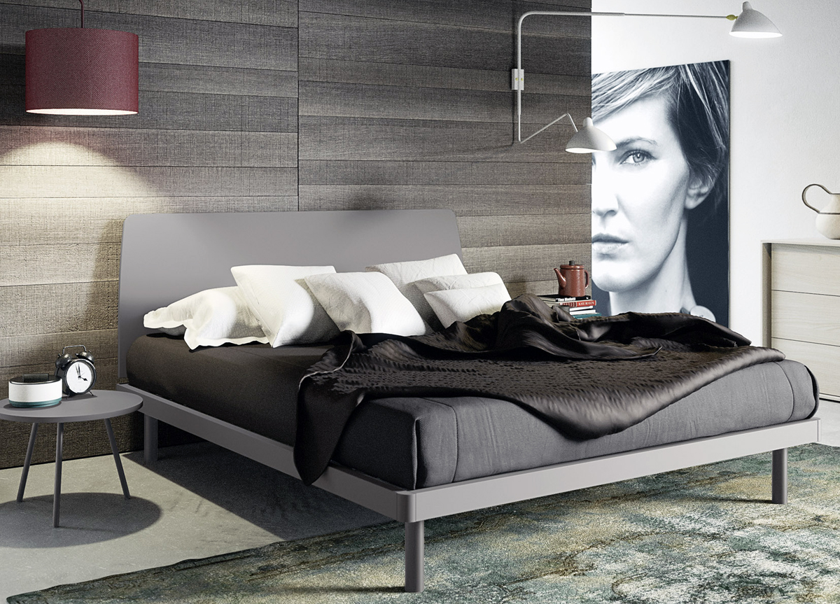 Gabes Contemporary Bed Modern Beds At Go Modern London