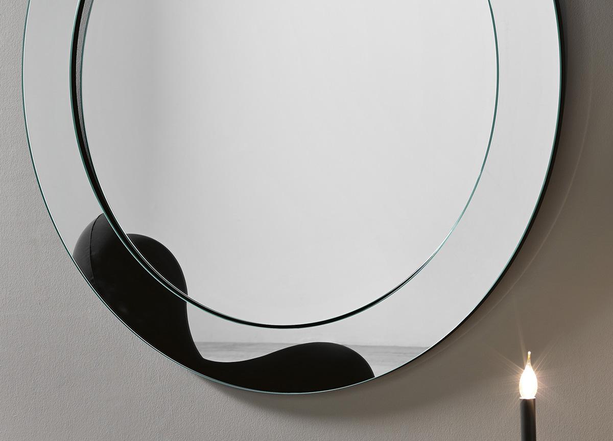 Tonelli Gerundio Round Wall Mirror Tonelli Design