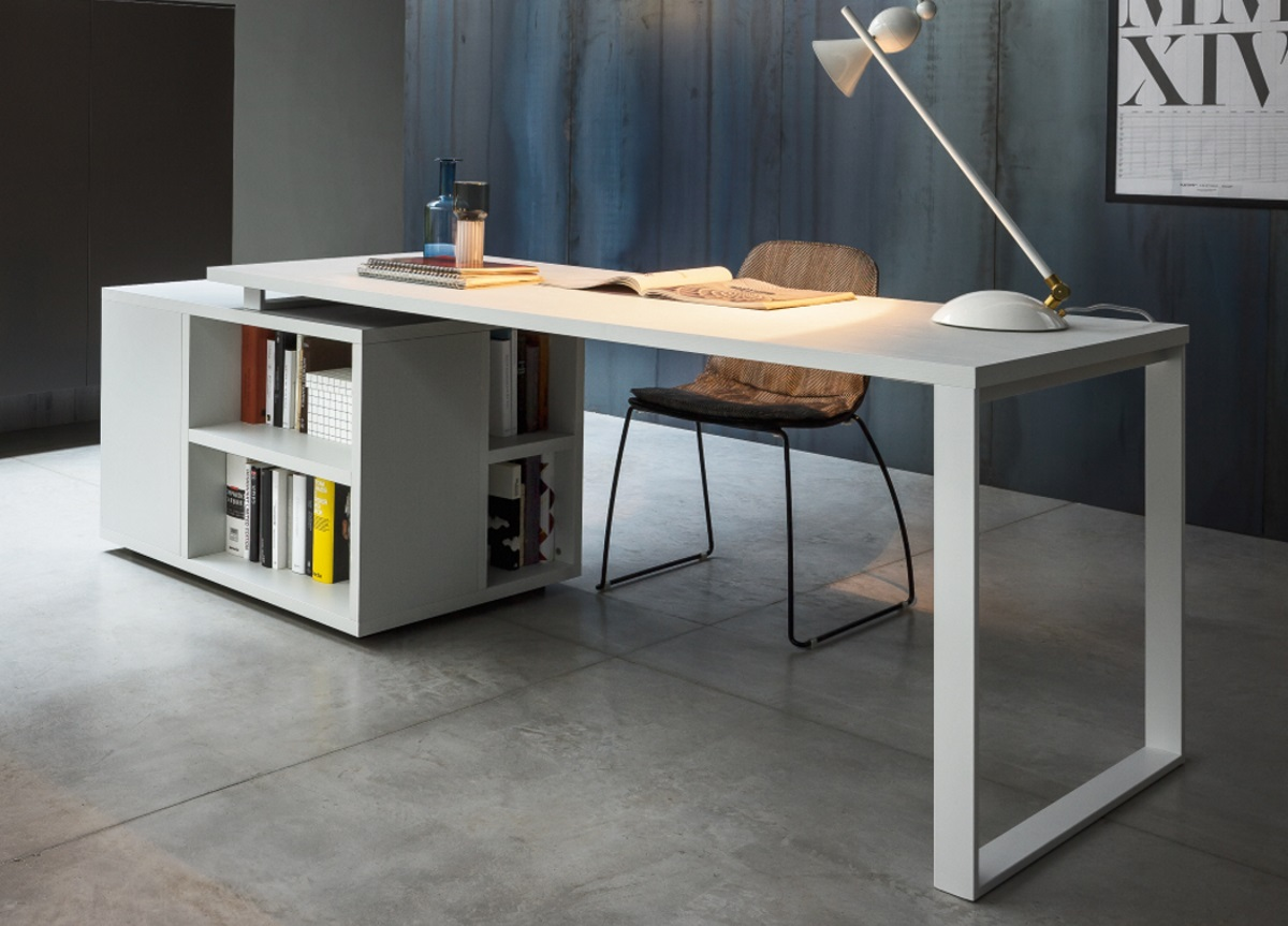 Image of: Isola Home Office Desk Modern Home Office Desks