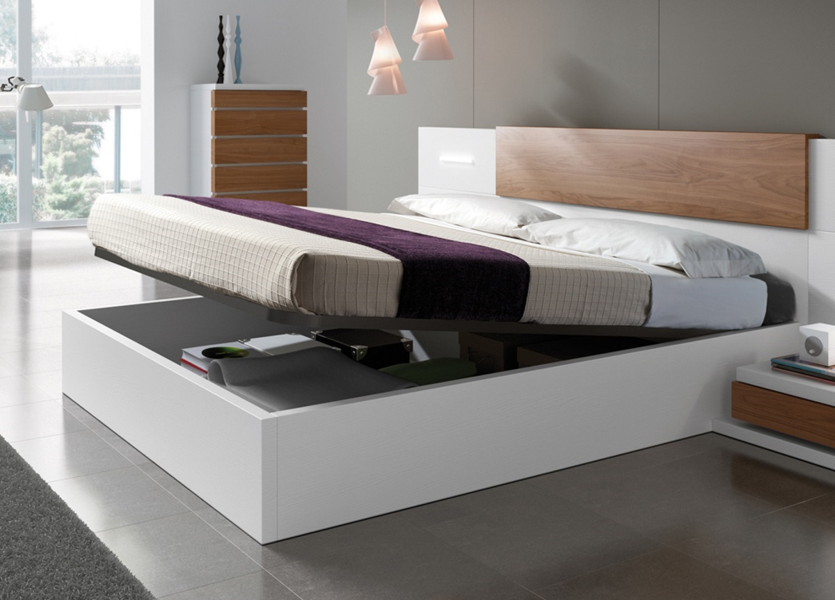 Picture of: Kenjo Super King Size Storage Bed Contemporary Super King Size Beds