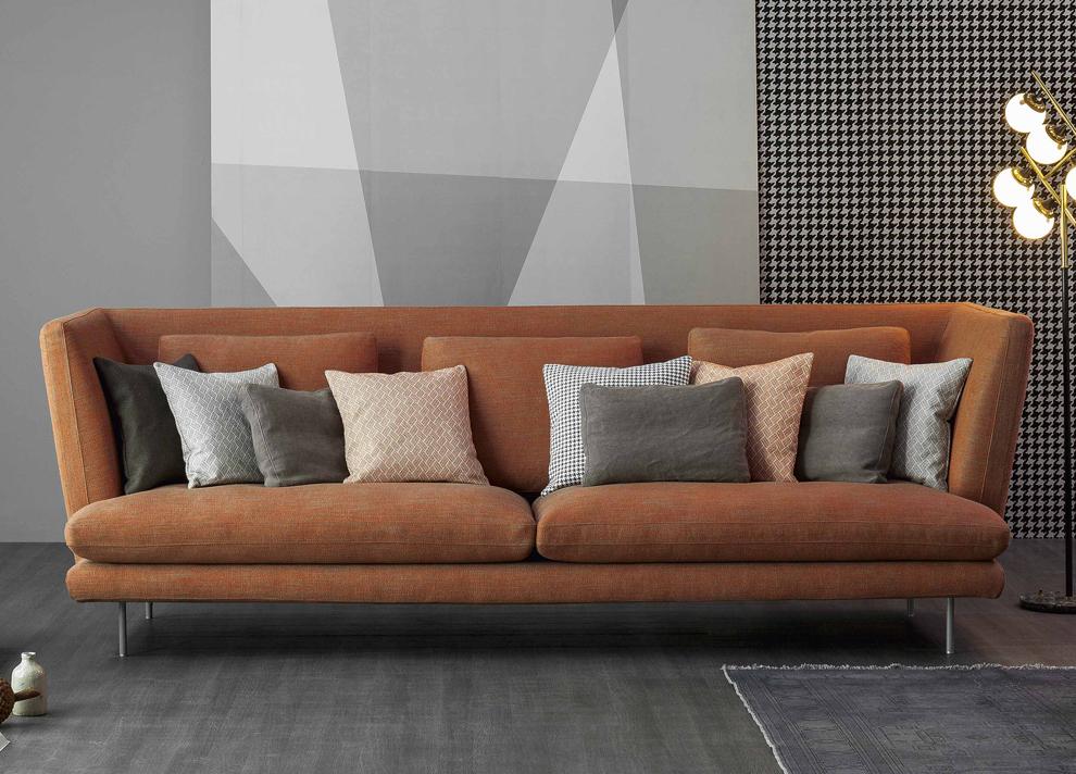 Bonaldo Lars High Back Sofa, High Backed Sofa