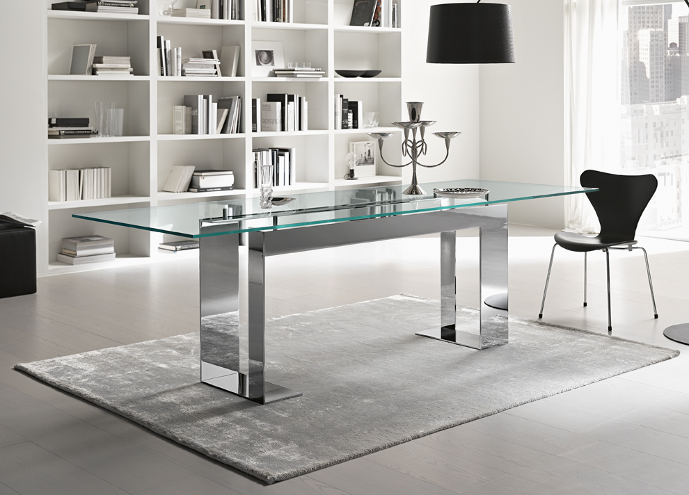 Go Modern Ltd Gt Dining Tables Gt Tonelli Miles Glass