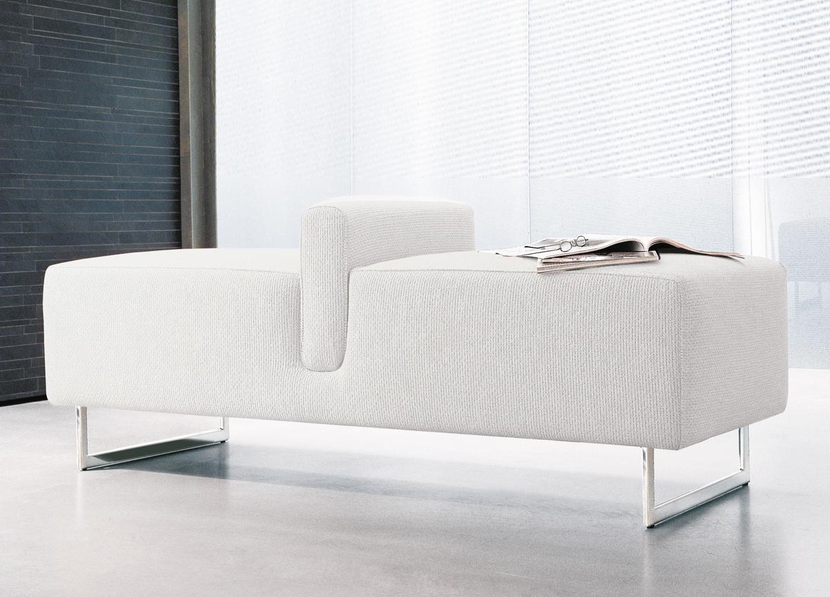 Alivar Onda 2 Bench Ottoman Alivar Furniture Go Modern London