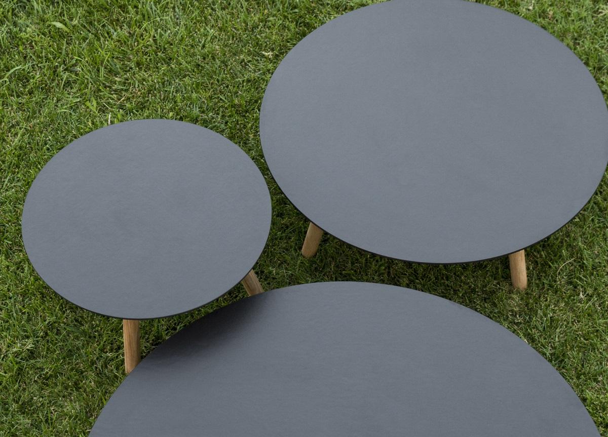 round garden coffee table