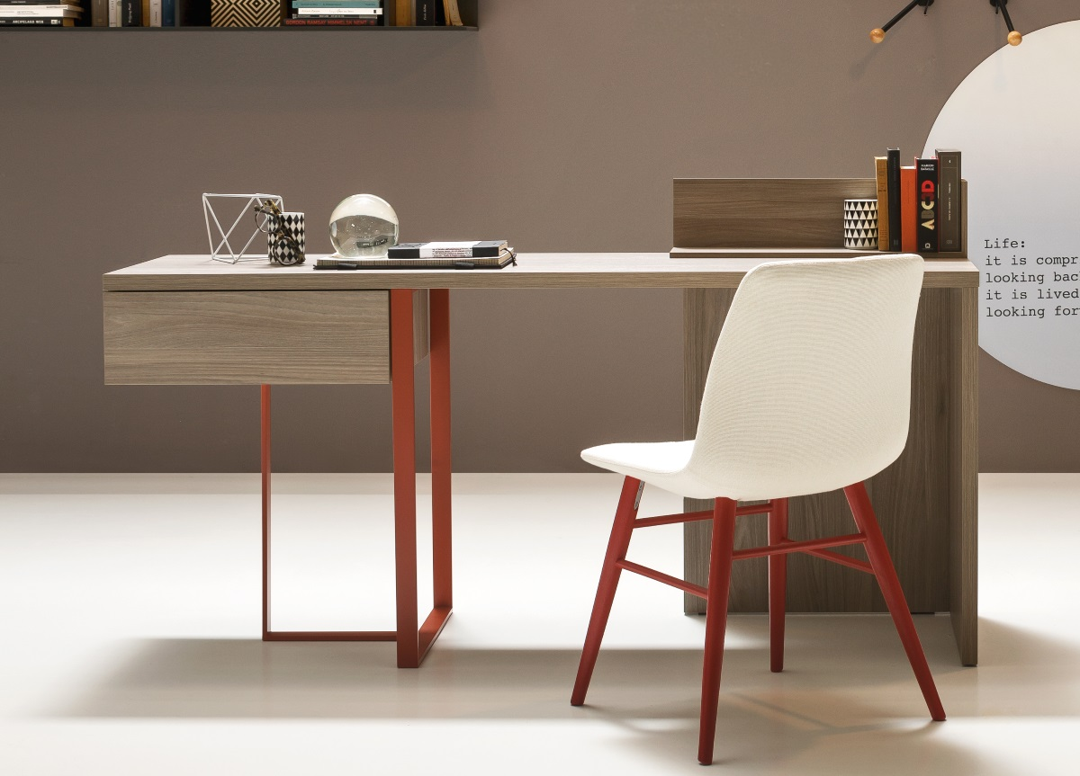 Image of: Scritto Home Office Desk Contemporary Home Office Desks