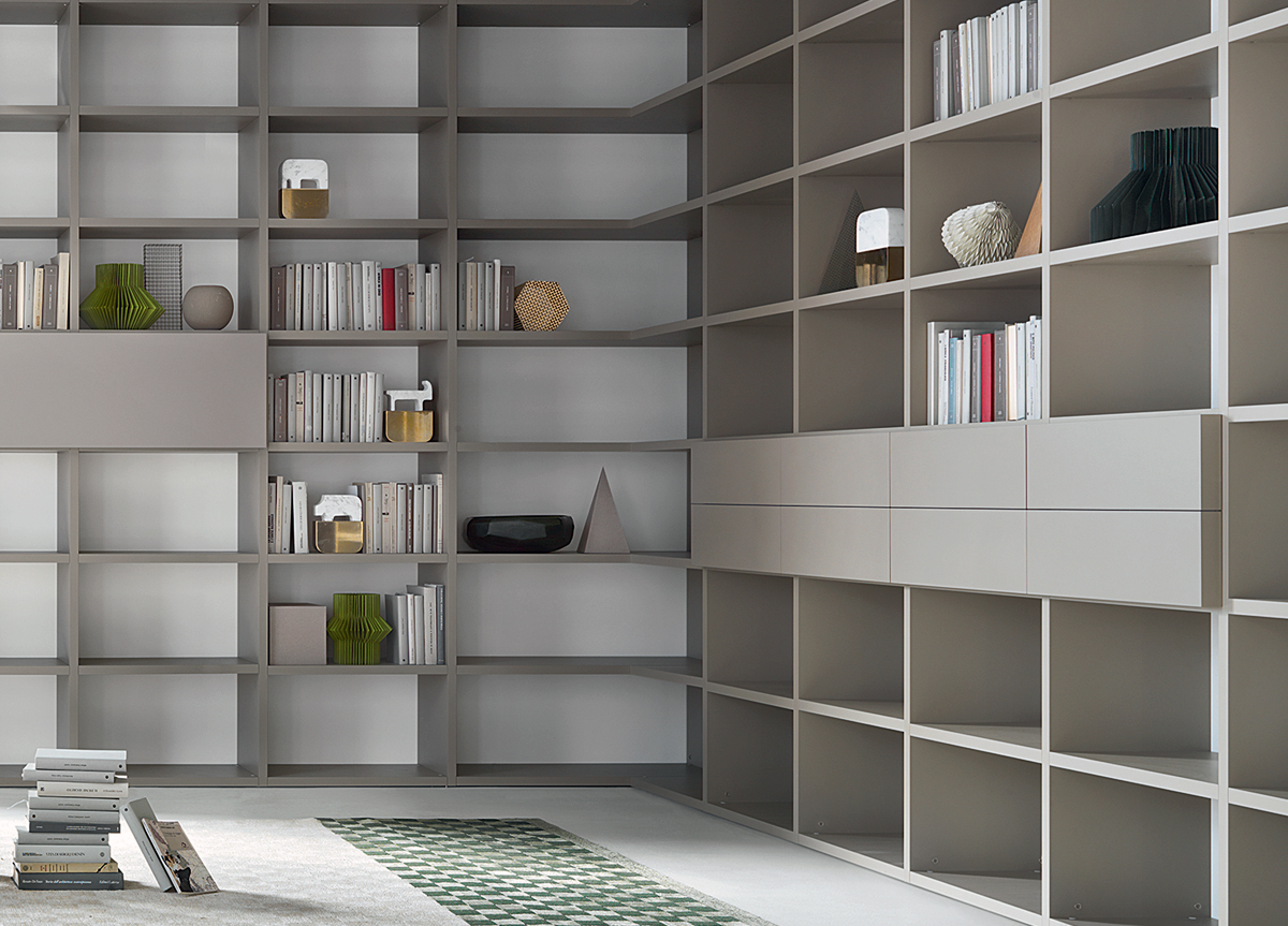 Lema Selecta 08 Bookcase Wall Unit