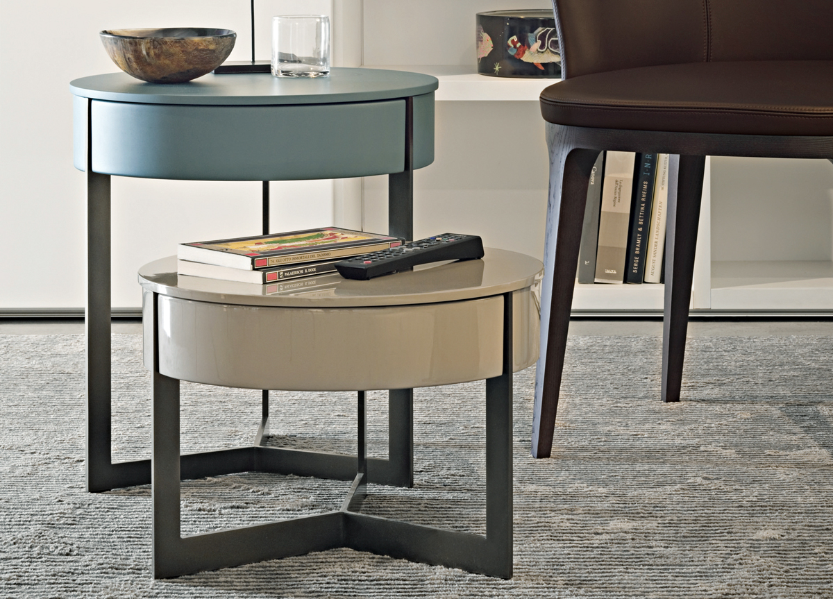 Picture of: Lema Sign Coffee Side Table With Drawer Lema Furniture Italian Furniture