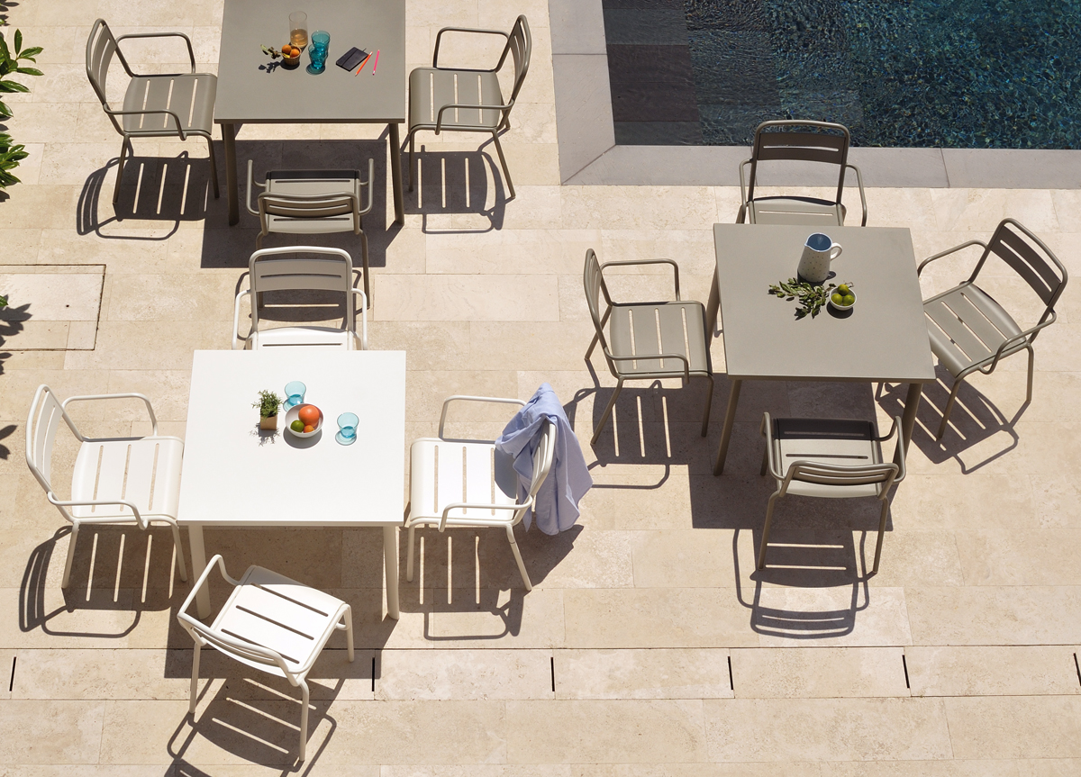 Square Table Emu Garden Dining Star Okw8n0P