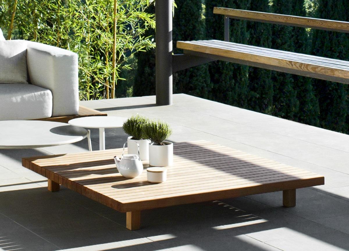 Tribu Vis A Vis Garden Coffee Table