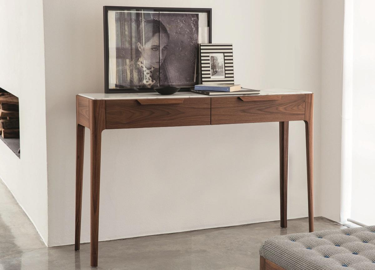 Porada Ziggy Console Table With Drawers Porada Furniture At Go Modern London