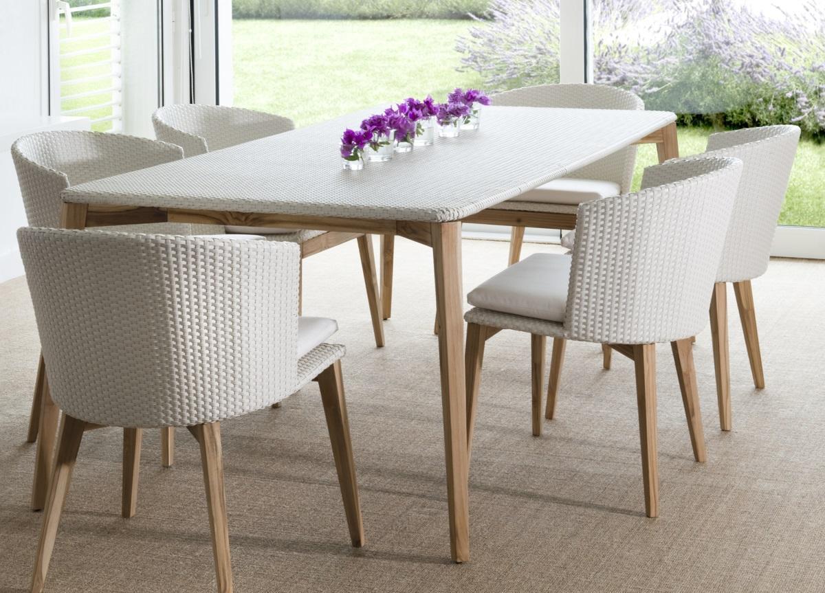 Arc Garden Dining Table