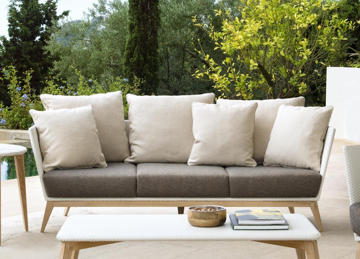 Arc Garden Sofa