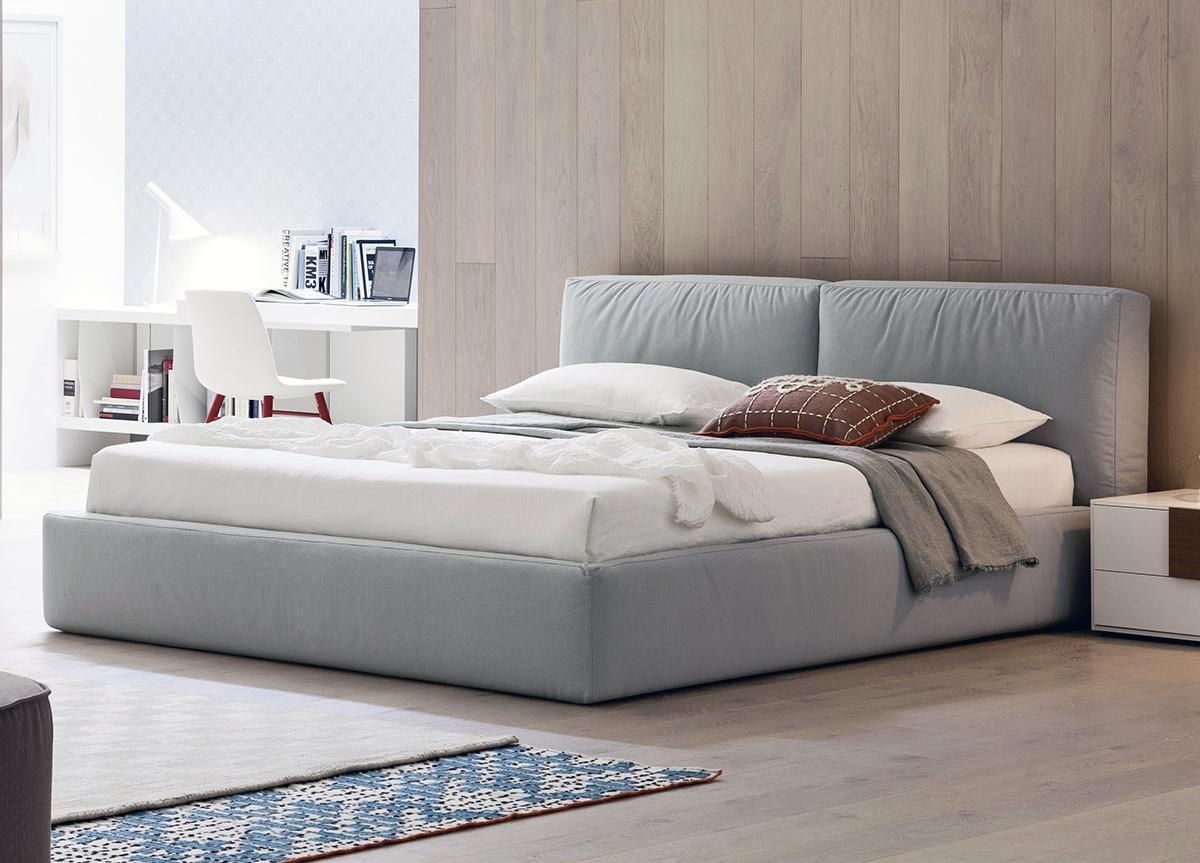Brick Contemporary Bed