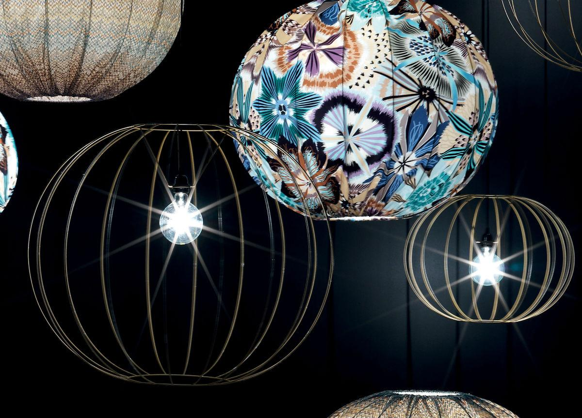 Missoni Home Gold Bubble Ceiling Light