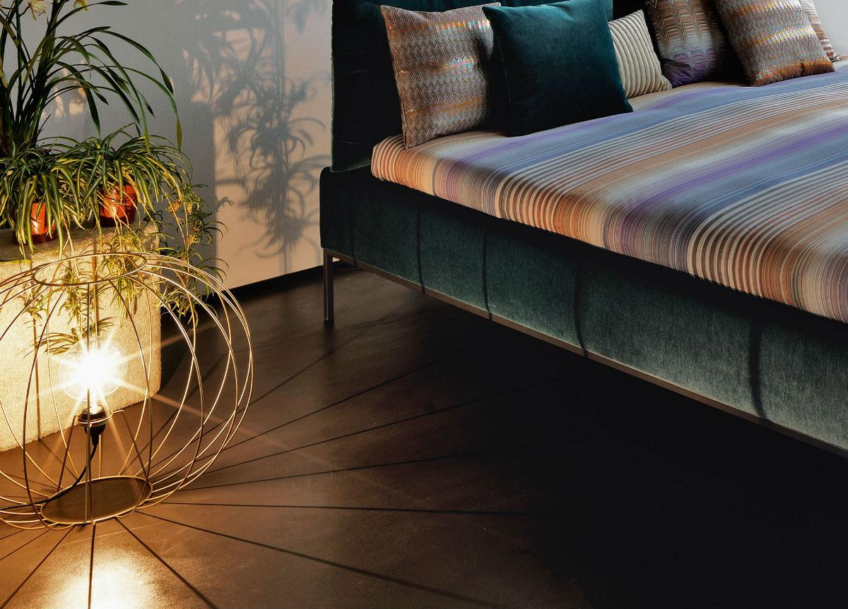 Missoni Home Gold Bubble Floor Light