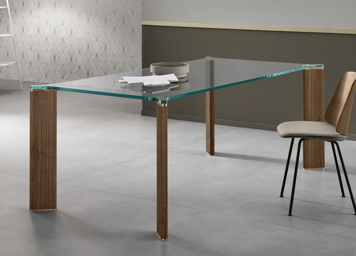 Tonelli Can Can Glass Dining Table