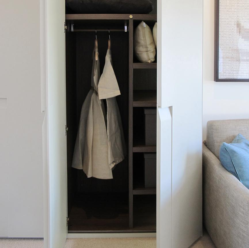 Lema Cea Hinged Door Wardrobe