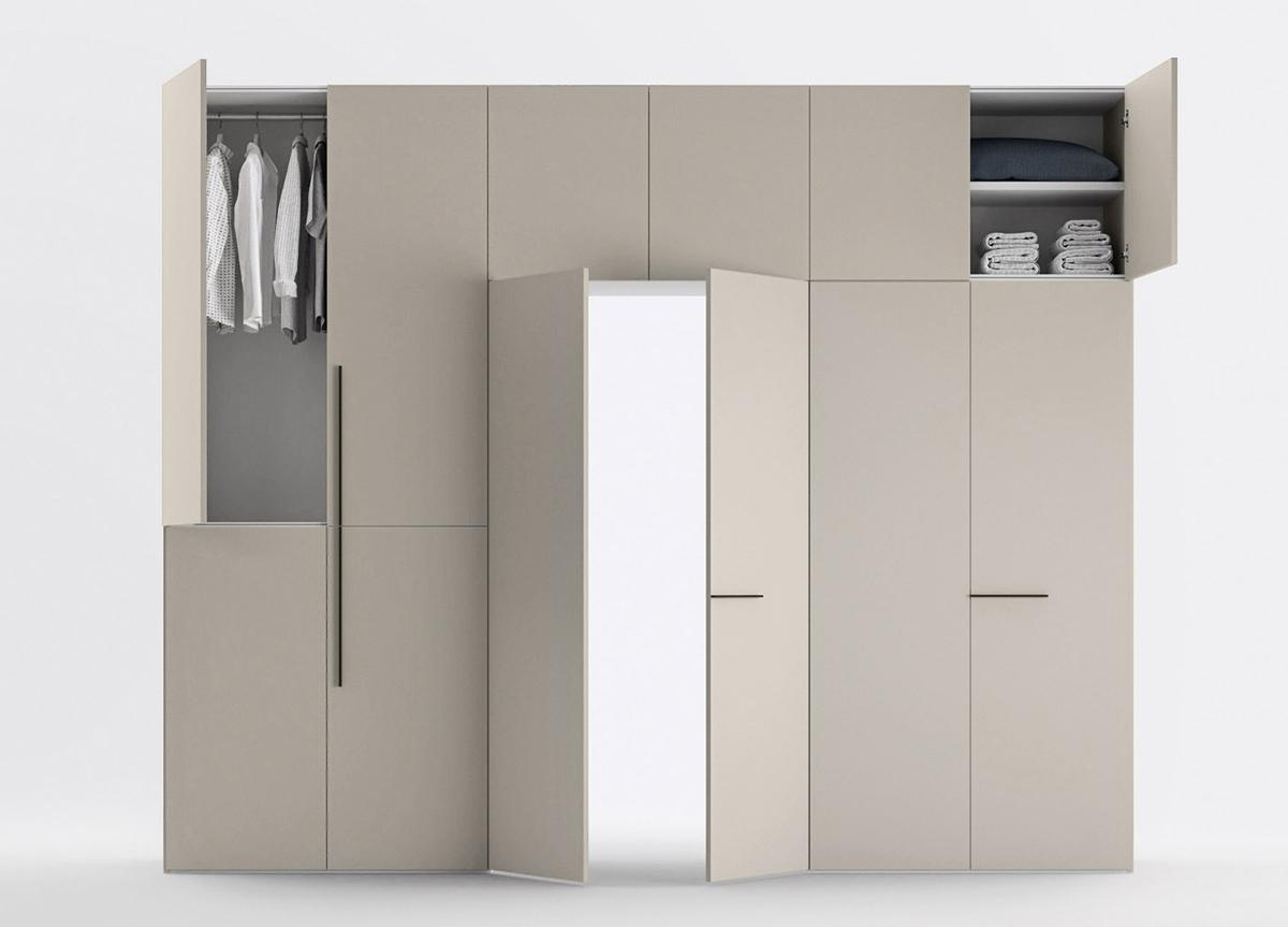 Cinquanta Portone Fitted Wardrobe