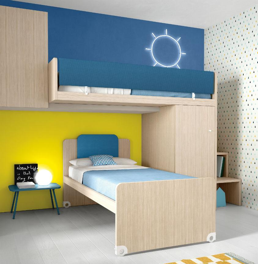 Battistella Nidi Children's Bedroom Composition 01