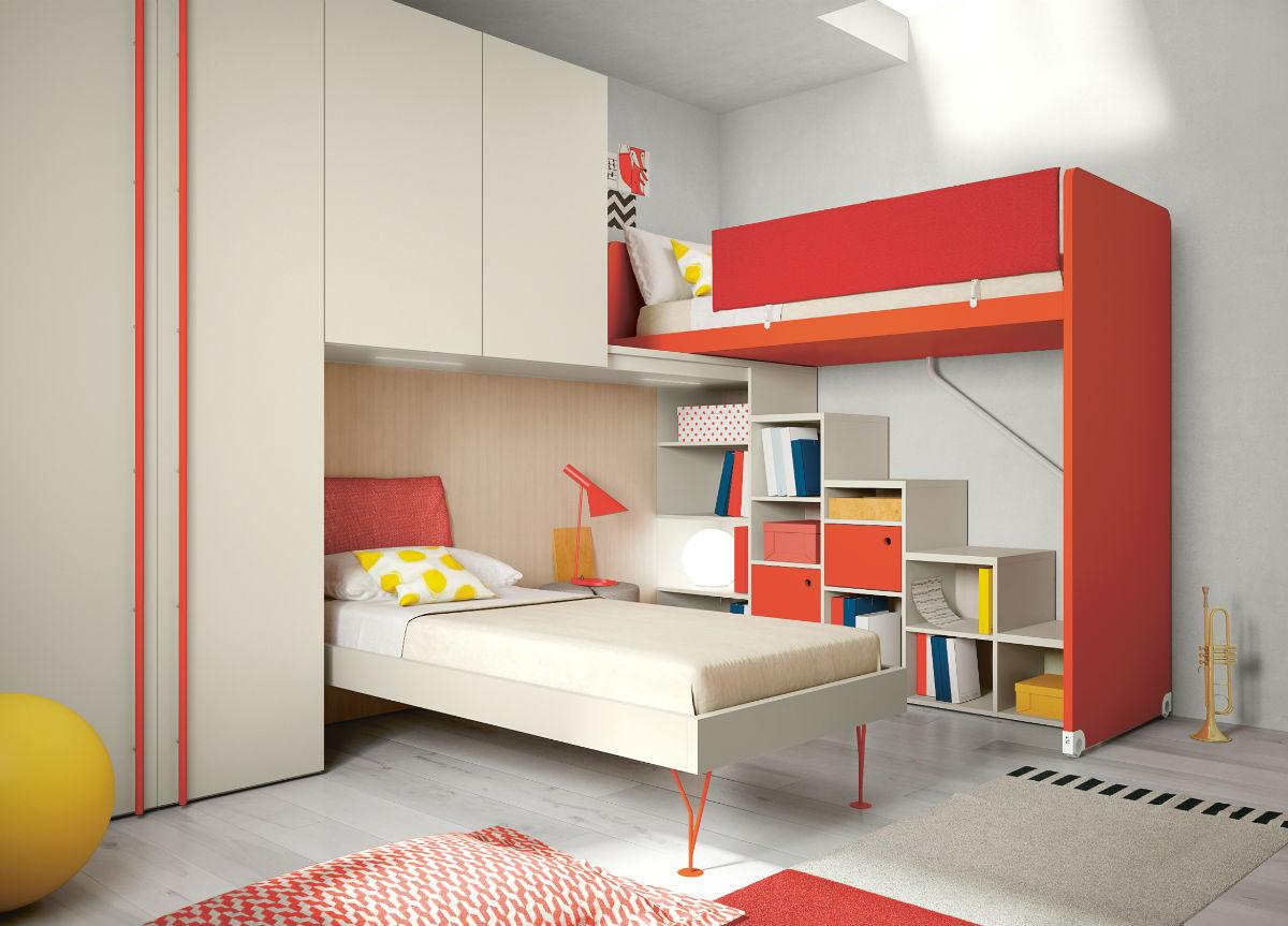 Battistella Nidi Children's Bedroom Composition 17