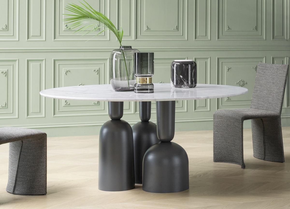 Bonaldo Cop Round Dining Table Bonaldo At Go Modern London
