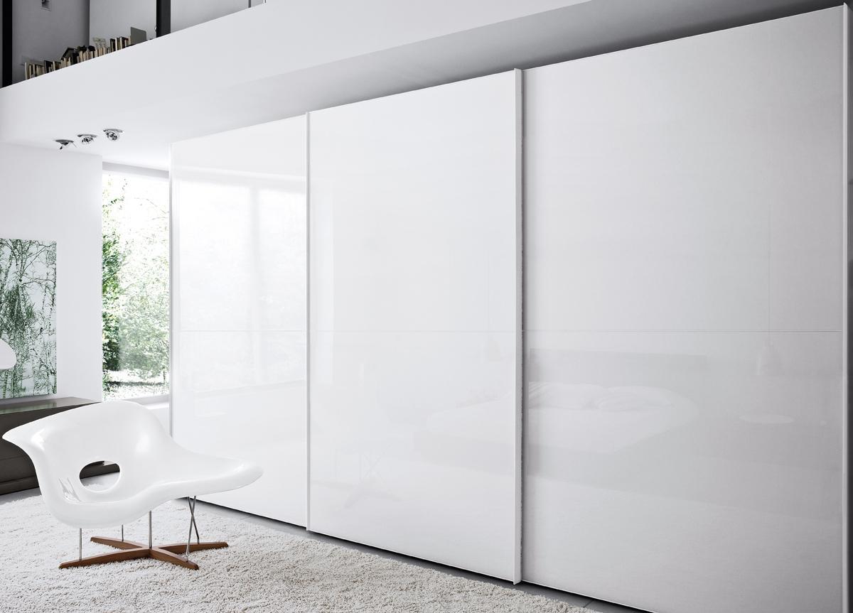 Crystal Sliding Door Wardrobe