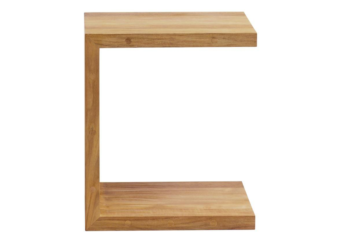 Tribu C Teak Garden Side Table
