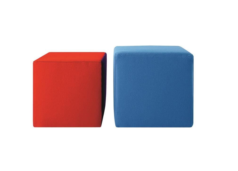 Battistella Cube Ottoman Contemporary Ottomans Poufs