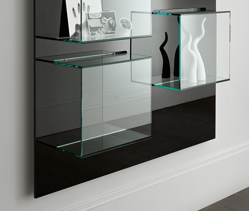 Tonelli Dazibao Glass Wall Unit