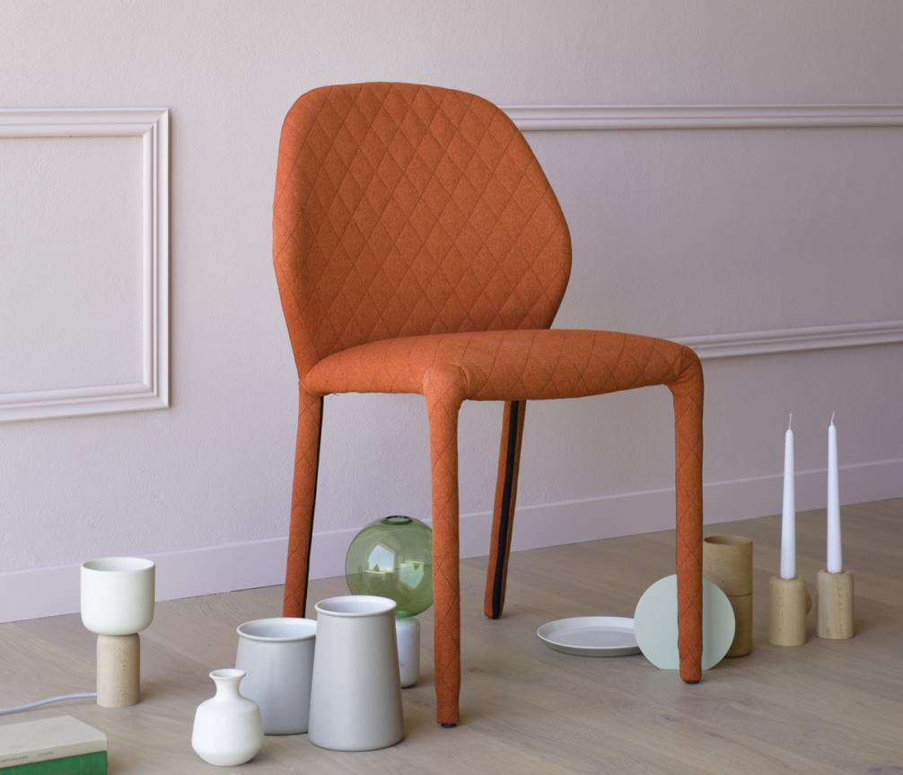 Miniforms Dumbo Quilted Dining Chair