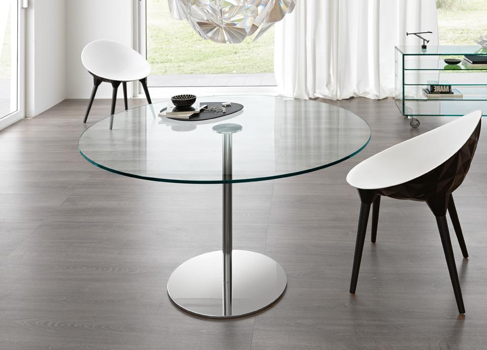 Tonelli Farniente Bistro Table Glass Dining Tables By Tonelli Design