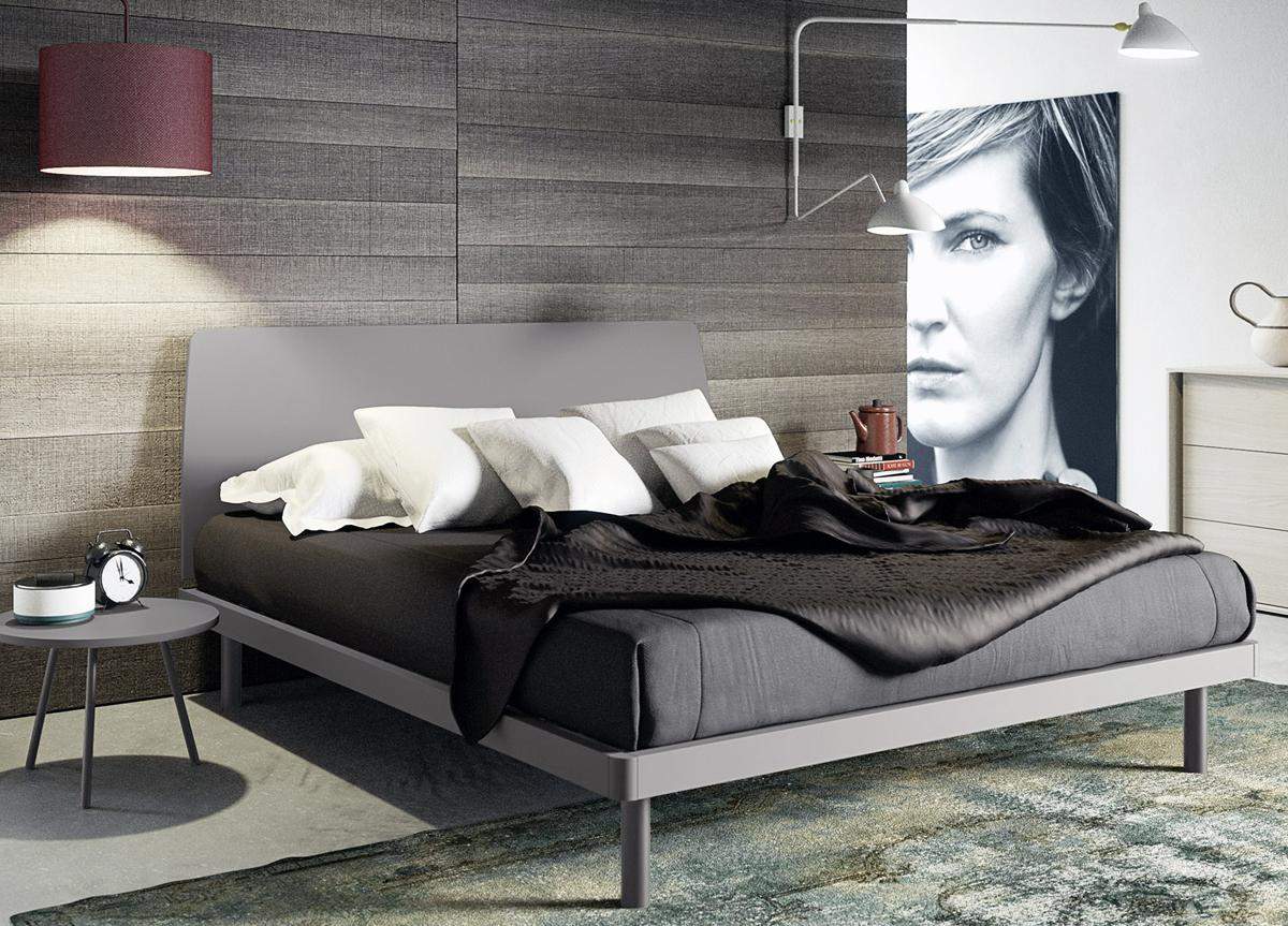 Gabes Contemporary Bed