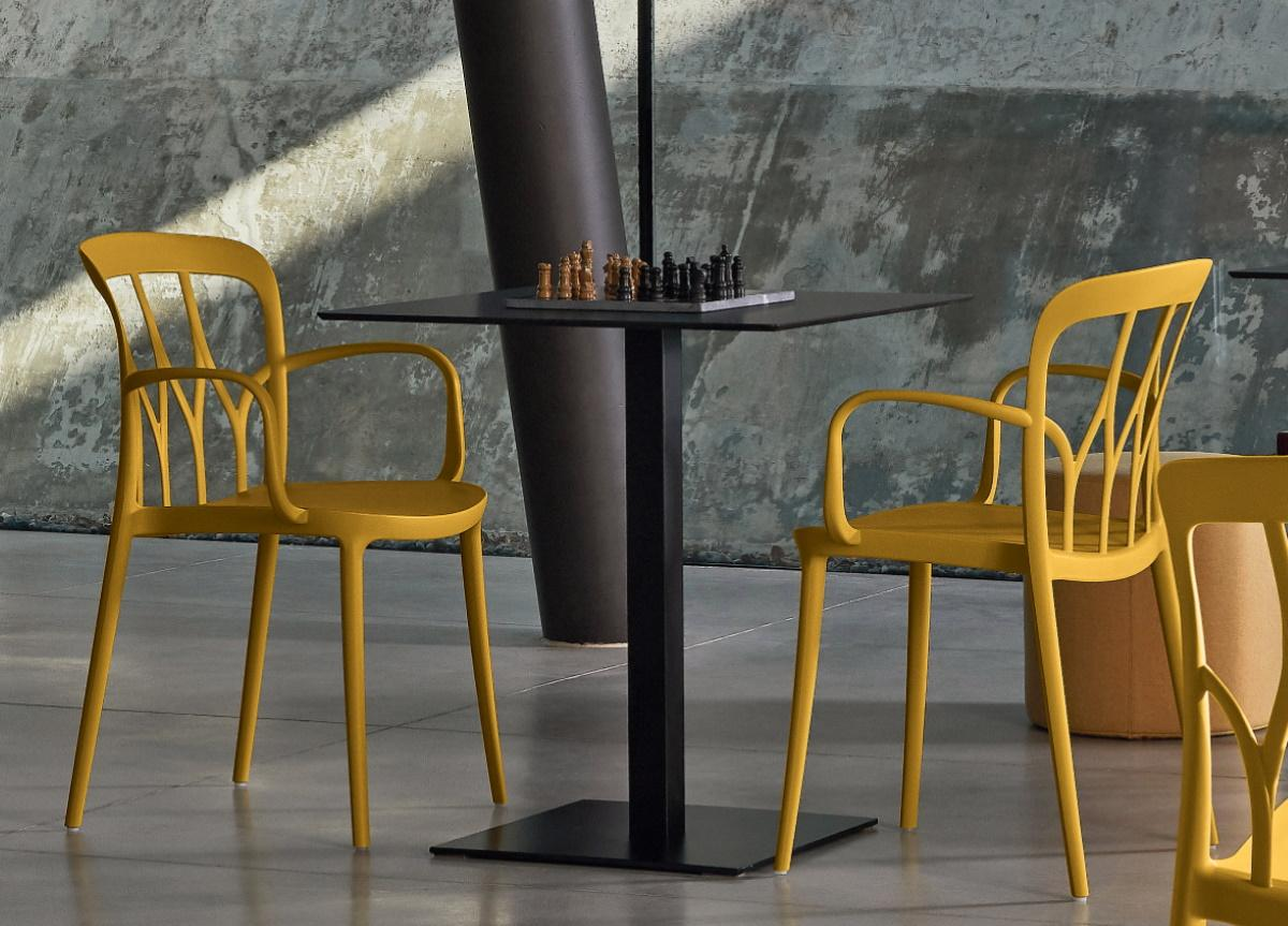 Bontempi Galaxy Dining Chair with Arms