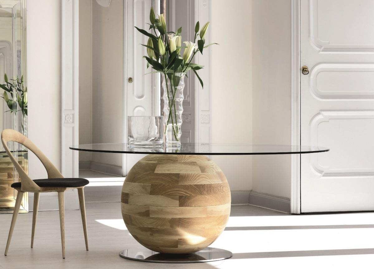 Porada Gheo-Off Round Dining Table