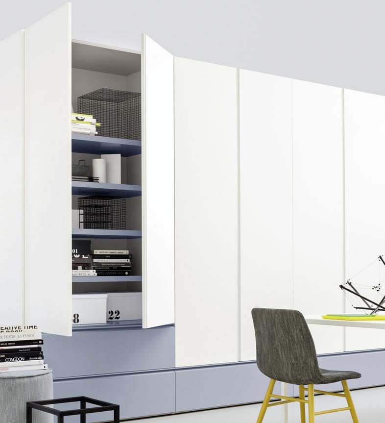 Gola Bedroom Wardrobe With Drawers