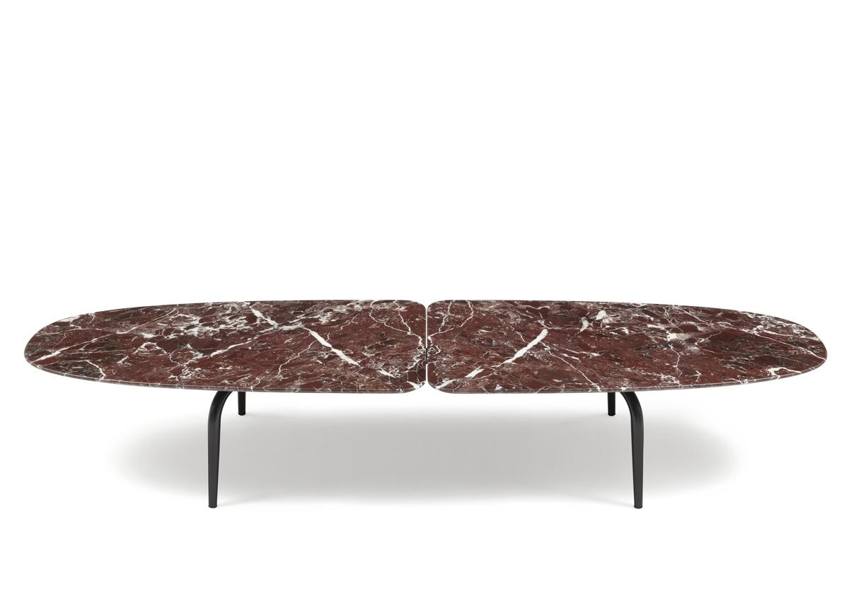 Zanotta Graphium Oval Coffee Table