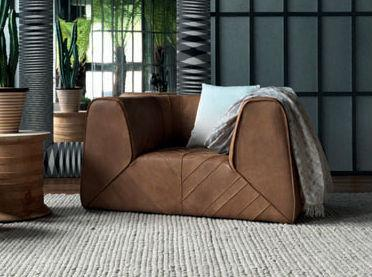 Missoni Home Gravita Leather Armchair