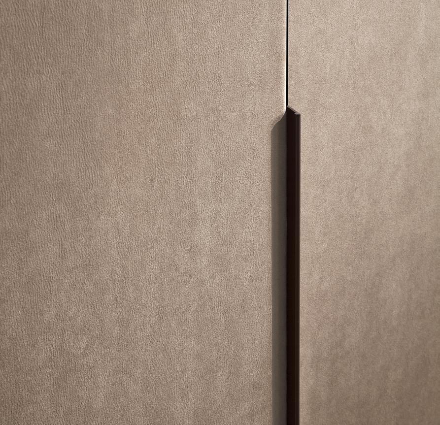 Jesse Hopus Upholstered Sliding Door Wardrobe