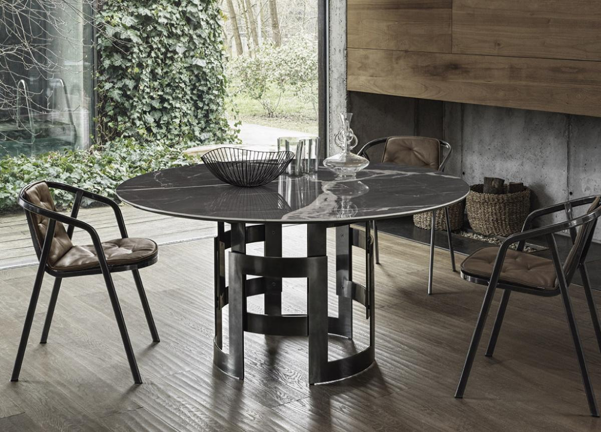 Bontempi Imperial Round Dining Table