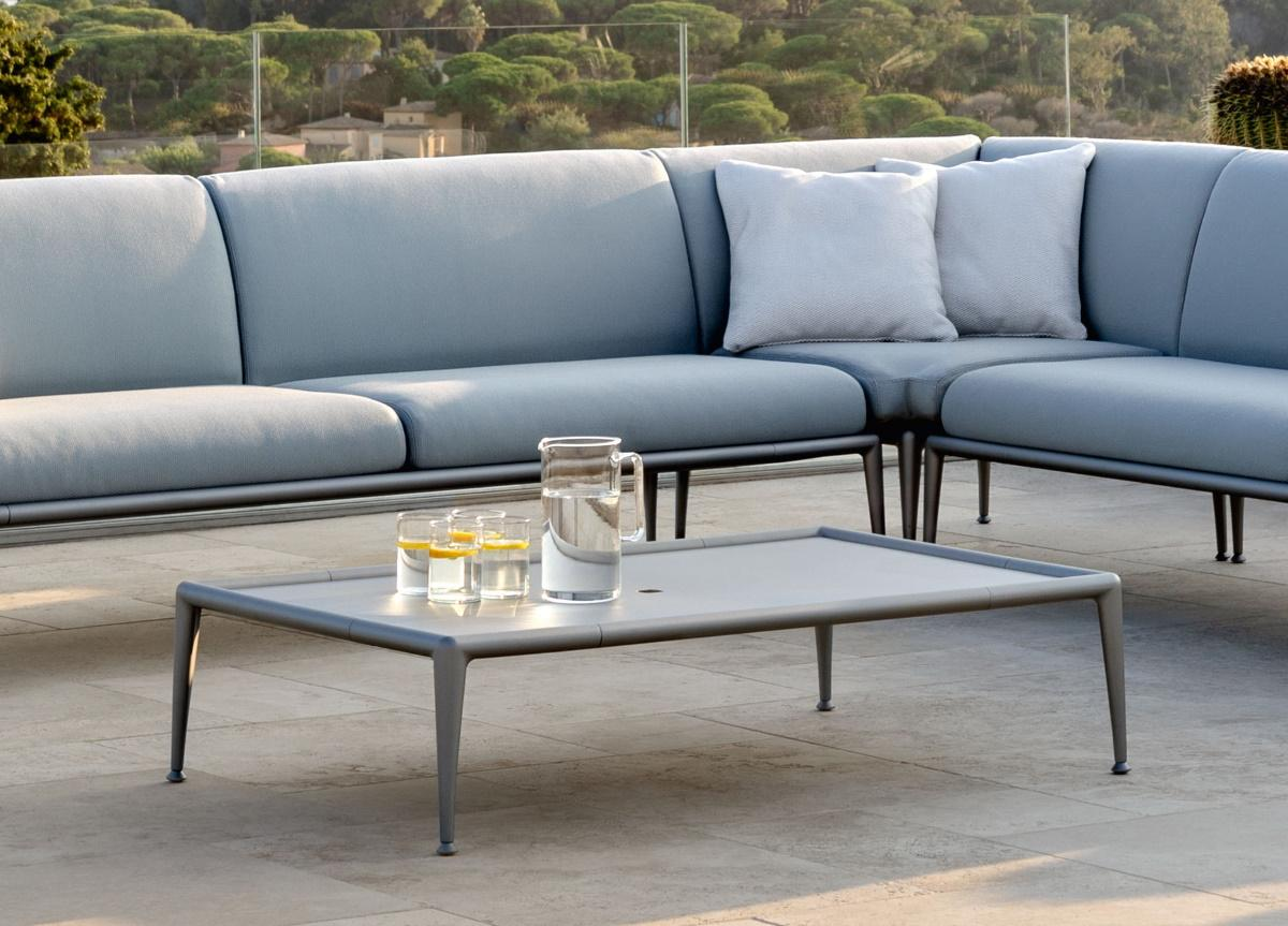 Sofa Back Wall Design, Joint Contemporary Garden Coffee Table Footrest Modern Garden Furniture At Go Modern London
