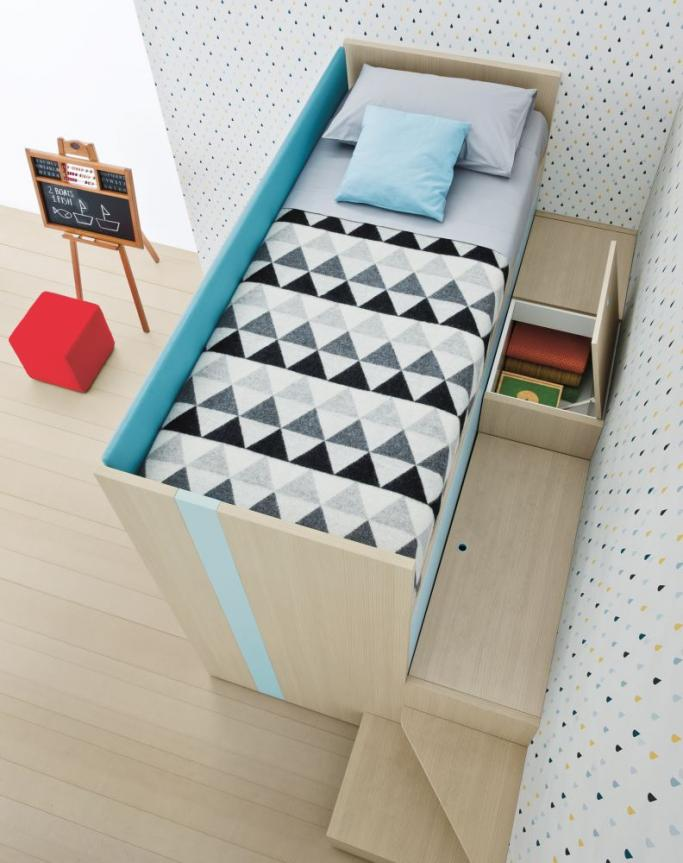 Battistella Lila Bunk Bed with Desk