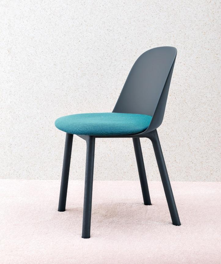 Miniforms Mariolina Dining Chair with Ash Legs