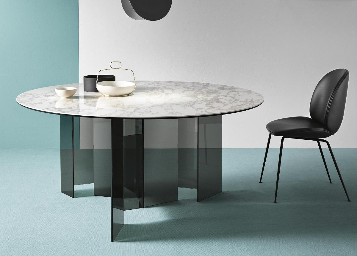 Tonelli Metropolis Ceramic Round Dining Table