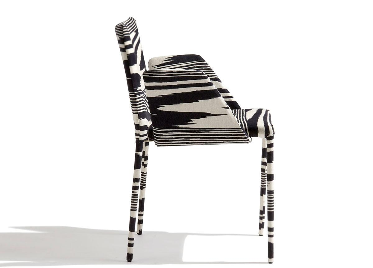 Missoni Home Miss Upholstered Dining Armchair