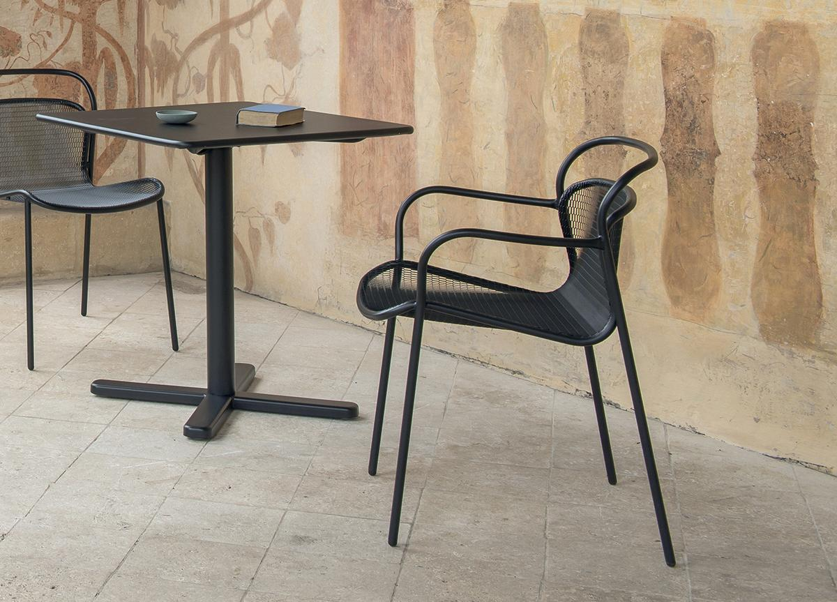 Emu Modern Garden Dining Chair With Arms