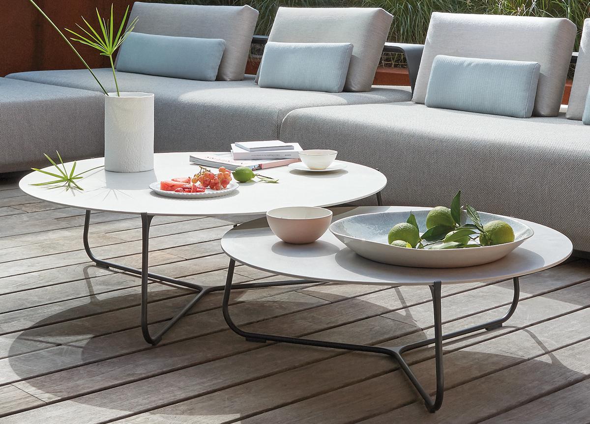 Manutti Mood Garden Coffee Table   Modern Garden Furniture   Garden Tables