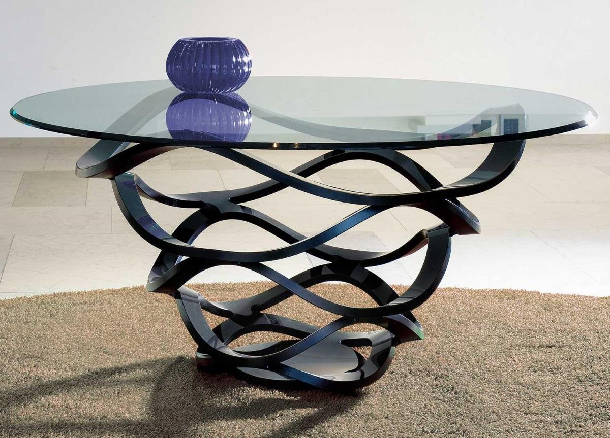 Reflex Neolitico Table - 160cm with black base - In Stock