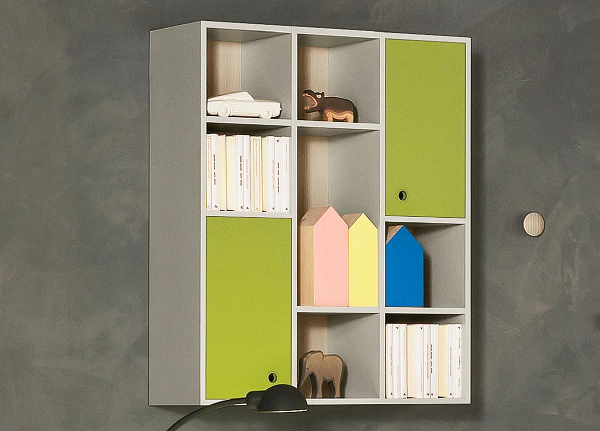 Battistella Nidi Wall Unit/Bookcase 12