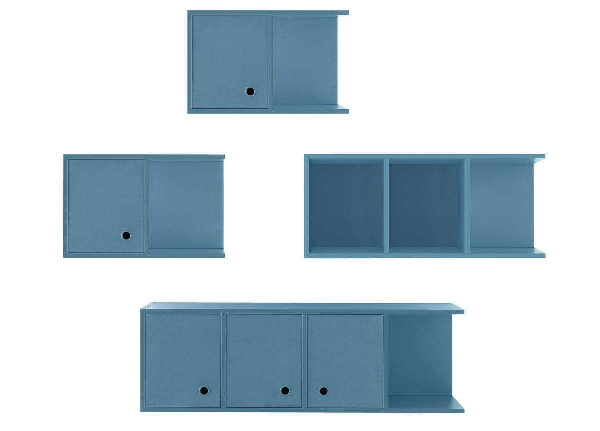 Battistella Nidi Wall Unit/Bookcase 13