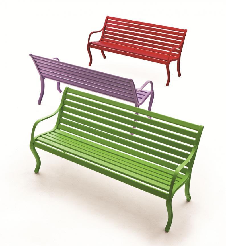 Oasi Garden Bench Modern Garden Furniture Garden Seating
